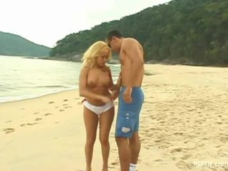 pláž, sex