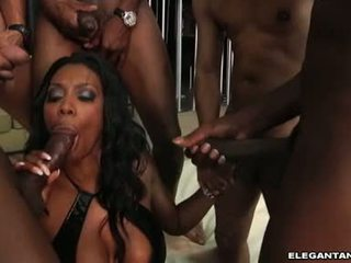 Nyomi Banxxx Is Horny And Hot Giving This Chabad To The Lucky Guys Swarming On Her