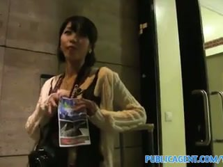 Publicagent micuta japonez pasarica filled cu mare pula