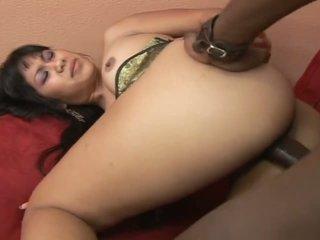 brunettes, big butts, massage