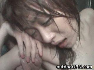 Akari hoshino japonez afara greu