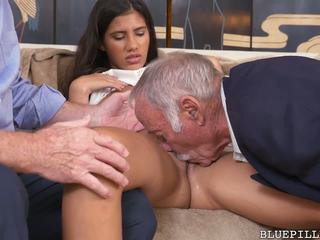 big butts, threesomes, old+young