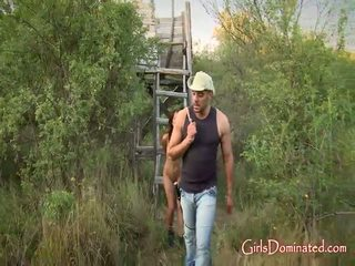 Redneck Controls His Hot Bride