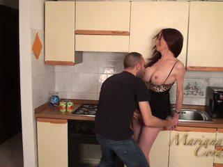 Mariana cordoba Καυτά σε ο κουζίνα