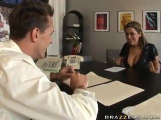 Big Titted Office Donna Sienna West Does Anything For A Reference