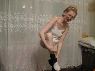 striptease, nonna, amateur mature