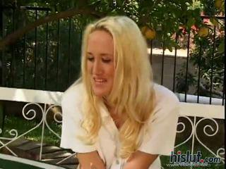 vaatama blondes kontrollima, reaalne lugu, kontrollima milf täis