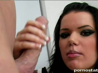 μελαχροινή, hardcore sex, πάχους