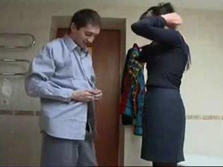 Ryska äldre grov kön