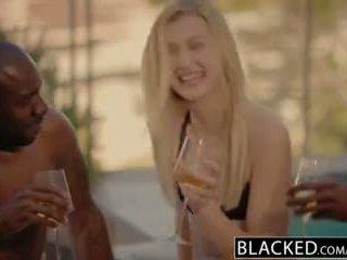 Blacked Alexa Grace First Interracial Threesome