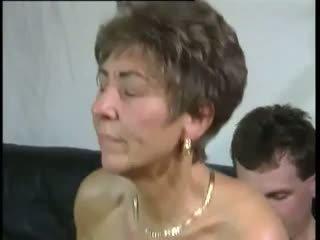 おばあちゃん, 古い+ヤング, hdポルノ