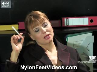 foot fetish, stocking sex, nylons feet