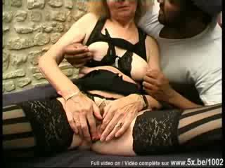 Old Agnes fucked by big dick