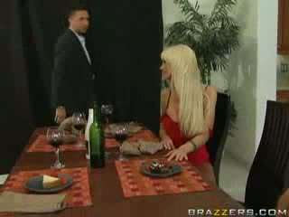 Brazzers - Horny housewives swap husbands for o.