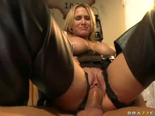 Alanah Rae Blonde Filled With Cum On H...
