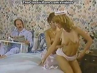 Karen vasara, nina hartley į porno klasikinis klipas su a ištvirkęs tarnaitė