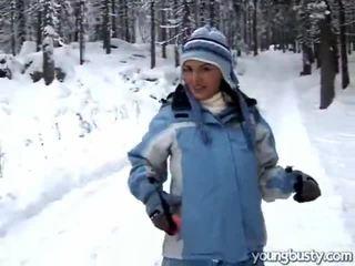 Bukkake mff içinde the snow