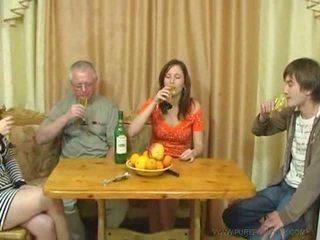 Pure venäläinen perhe seksi video-