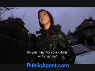 Ceko orang berambut pirang goes rumah dengan itu masyarakat agent