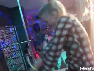 Party lesbians are fucked in sex orgy