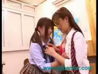 日本の, 女の子, レズビアン