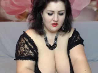 buah dada besar, bbw, webcam