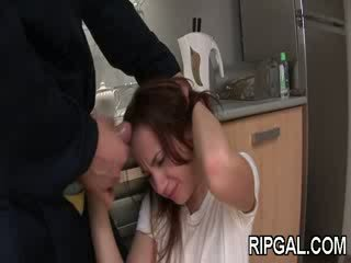 Her anus is destroyed
