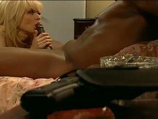 Porner Premium: Sexy blonde milf loves sex with big black dick