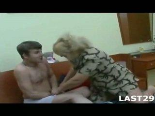Mature Milf Fucks Young Guy