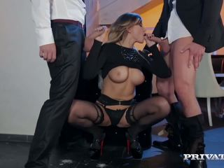 Kikkis tihane anna polina gets mõned karm dp, porno bb