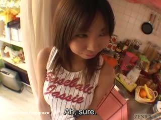 Gjoksmadhe tan japoneze nxënëse i madh breast complex subtitles