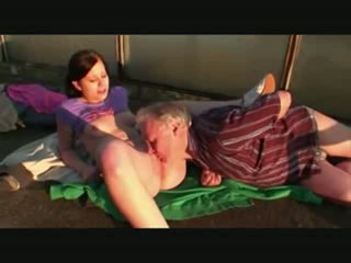 Netherlands Innocent Young Teen Outdoor Sex With Old Man In Public