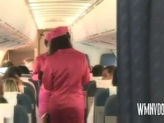Karstās airlines blondīne