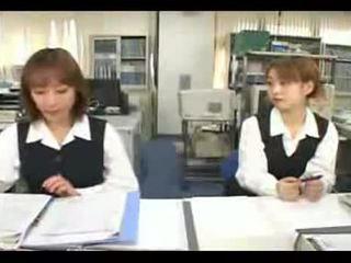 brunette, japanese, teens, kissing, glamour, office