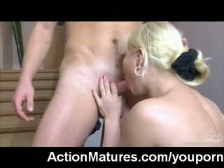 pussy licking, german, moms and boys