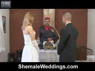 Segama kohta carla, tony, alessandra poolt shemale weddings