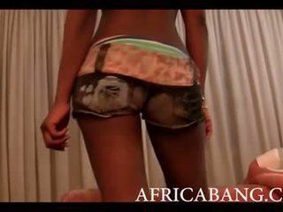 Africano amatoriale boned difficile da bianco uomo