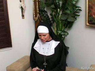big tits, nun, milf