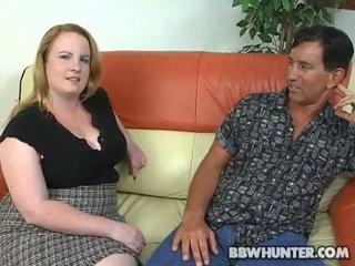 Ebony guy fucks fat girl