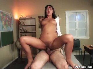 Busty Brunette Nadia Aria Extra Bends ...