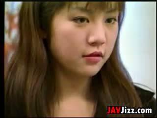 Saldus japoniškas mergaitė dulkinimasis uncensored