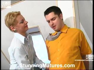 Alice And Adam Concupiscent Mama In Action