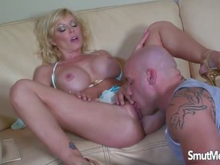 Sexy MILF Holly Sampson gets Fucked on a Sofa: Free Porn 55