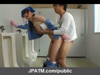 Japonais public sexe - asiatique adolescence exposing extérieur part03