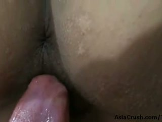 Filipina babe Ladyhoney fucked in her tight ass and a facial