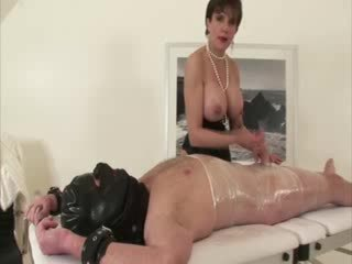 Miss Sonia loves being in control of h...