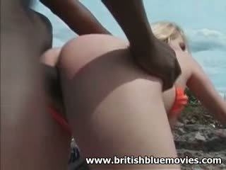 Alicia Rhodes - British Hardcore Interracial