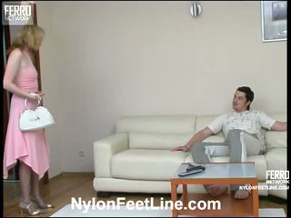 Irene adam найлон footsex видео