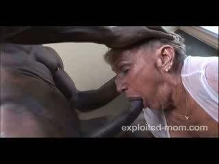 76 anno vecchio nonnina gets scopata