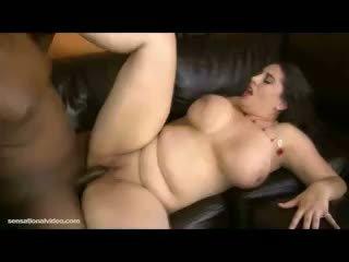 brünette, große brüste, bbw